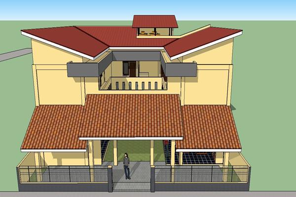Rumah Kos 2 Lantai Kel Bp. Sa'bani