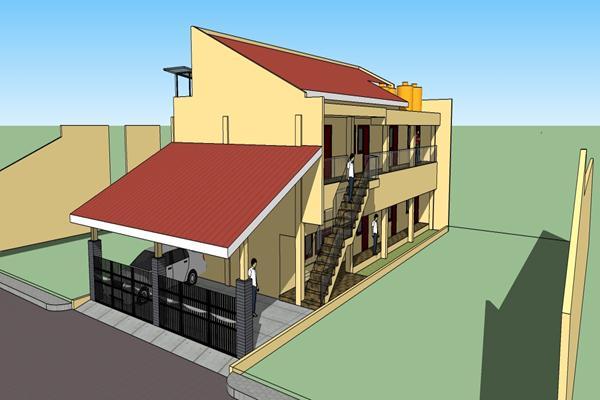 Rumah Kos 2 Lantai Kel Bp. Murjani