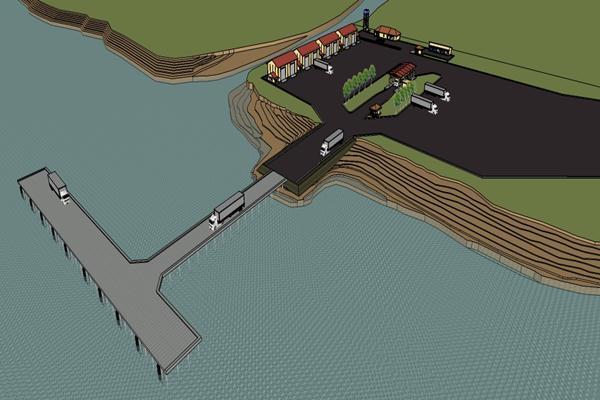 Pelabuhan Barang Samarinda – Lokasi Samarinda